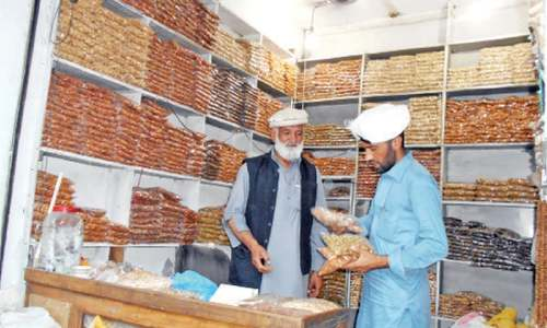 Most dry fruit sold in Chitral not local