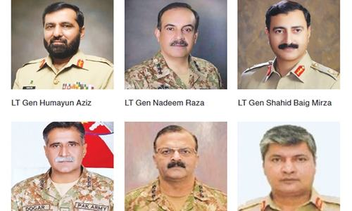 One-third of corps commanders replaced in major reshuffle