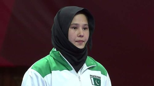 Karateka Nargis fetches second bronze for Pakistan in Asiad