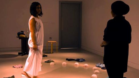 Performance art is considered derogatory, even among the art community, says artist Natasha Jozi