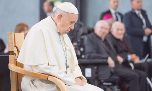 Pope Francis 'begs for God's forgiveness' over sexual abuse scandal