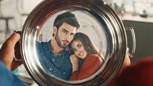 Sajal Ali and Imran Abbas are breaking gender stereotypes with this TVC