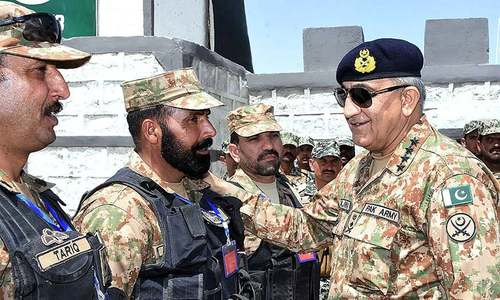 Gen Bajwa commends stabilisation operations on visit to South Waziristan