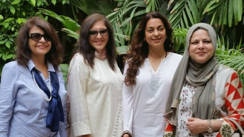 Juhi Chawla is in Karachi and she had a 'delightful' time watching JPNA2