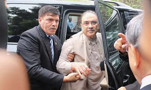 Zardari gets pre-arrest bail in fake accounts case