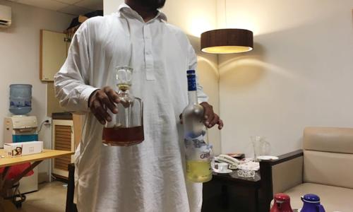Police team set up to probe liquor case against Sharjeel Memon