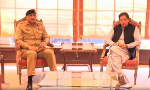 COAS calls on PM Khan to discuss security matters