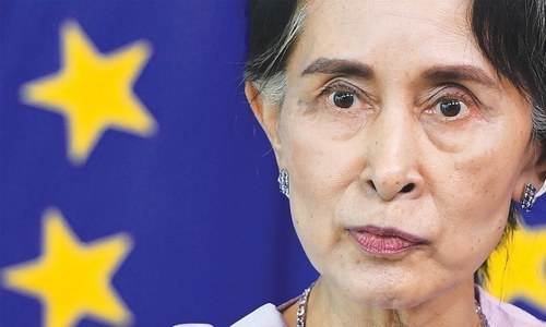 Myanmar defends Suu Kyi's silence over jailed Reuters reporters