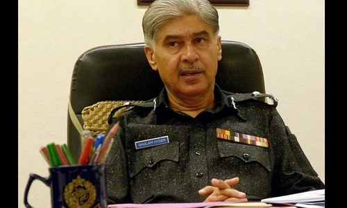 Former IG Jamali obtains interim bail