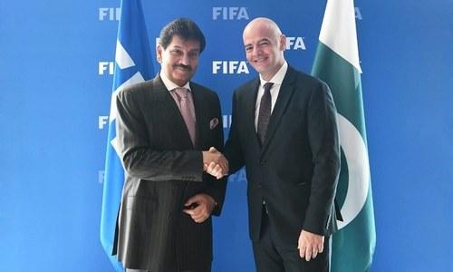 FIFA President Gianni Infantino accepts invitation to visit Pakistan: PFF