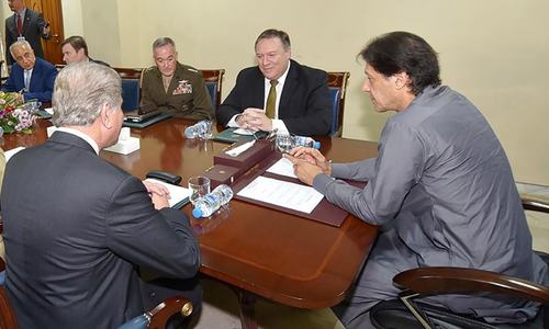 PM Imran Khan, US Secy of State Pompeo discuss bilateral ties during meeting at PM House