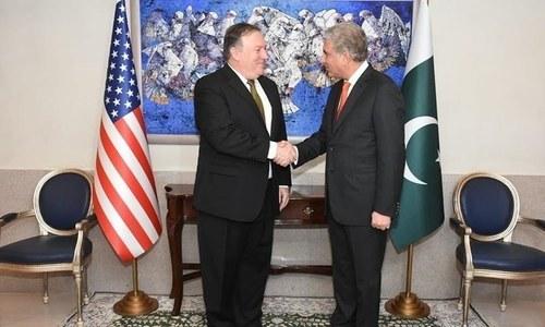 Pompeo urges steps to rebuild trust between Pakistan, US