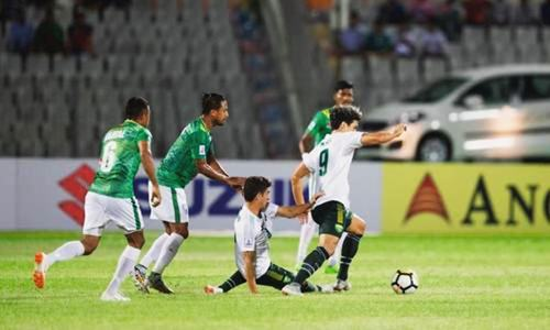 Pakistan fall to BD in SAFF Cup
