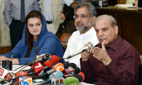 Shahbaz criticises PM Khan for not forming parliamentary body to probe 'rigging'