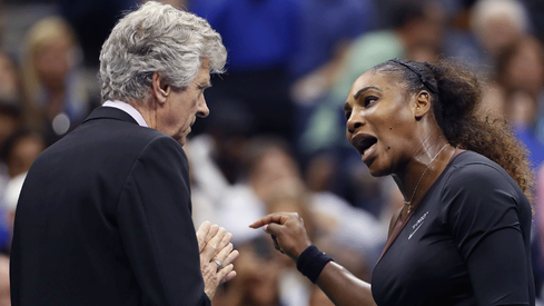 Serena Williams calls out sexism during US Open final, vows to 'fight for women'