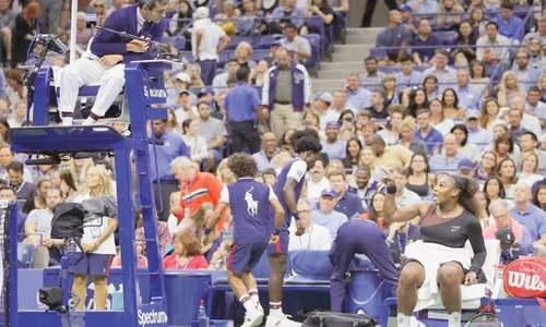 Osaka makes US Open history after Serena meltdown