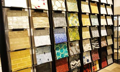 Tiles try to catch the construction boom wave