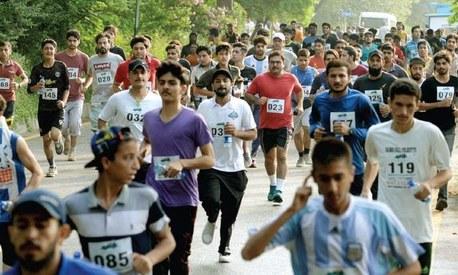 Islamabad runs marathon for the preservation of Margalla Hills National Park