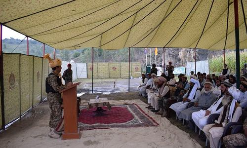 .ہائیڈل پاور پلانٹ منصوبےکے افتتاح کے موقع پر تقریب میں مقامی افراد نے بھی شرکت کی۔