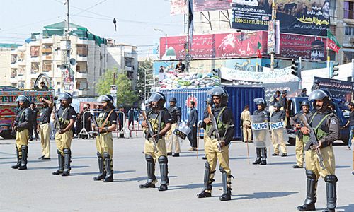 Around 77,000 security personnel to be deployed in Sindh for Muharram