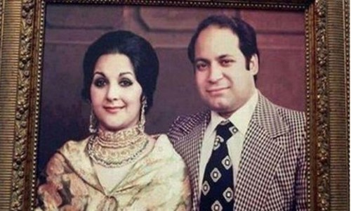 Throwback: When Nawaz and Kulsoom celebrated 46 years of marriage