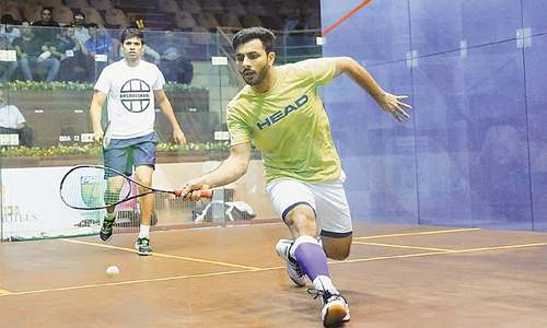 Tayyab remains Pakistan's only hope in squash championship