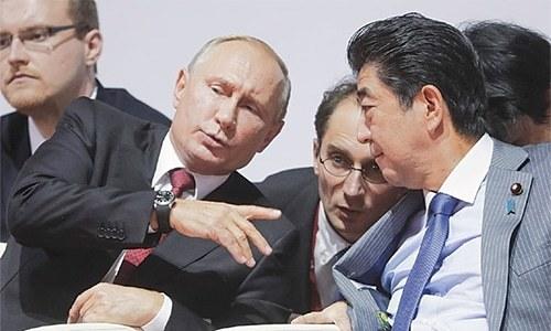 Putin suggests long-awaited peace treaty to Japan