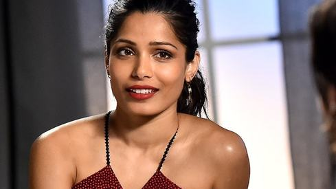 I refuse to work with someone that I know is a repeat sexual offender: Freida Pinto