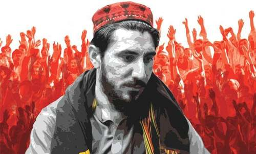 KP police issue arrest warrants against PTM's Pashteen, Wazir, six others