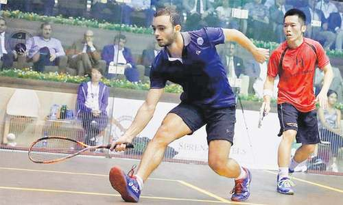 Egypt's Soliman, Elarby clinch squash titles in CAS Open