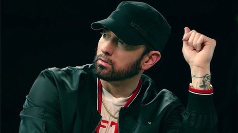 Eminem regrets using homophobic slur on new album