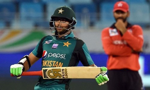 Pakistan saunter to victory over hapless Hong Kong