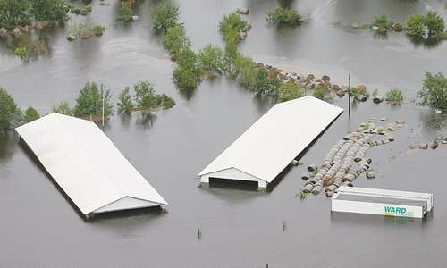 Hurricane drenches US state with more rains