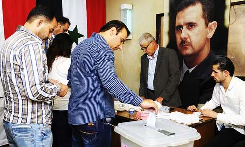 Syrians in govt-controlled areas vote in local elections