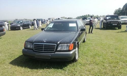 Auction of luxury vehicles of PM House: 61 cars sold