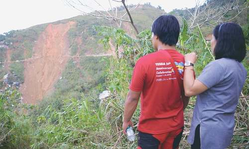 Landslide buries relief centre in Philippines; 3m evacuated in China