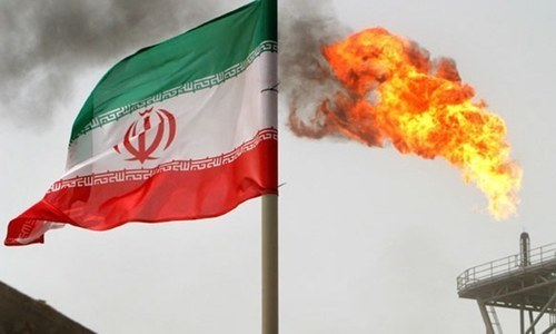 Iran's gas exports slide