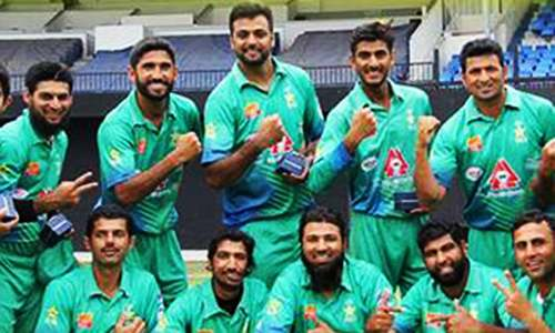 Pakistan deaf side beat India in tri-series