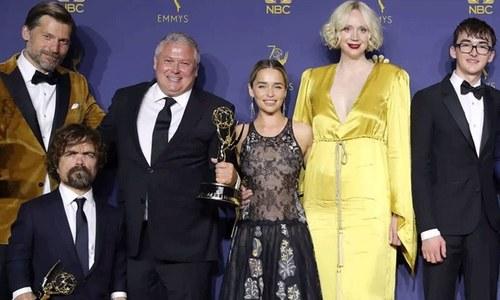 'گیم آف تھرونز' بہترین سیریز کا 'ایمی ایوارڈ' جیتنے میں کامیاب