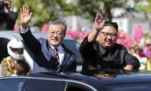Korean leaders meet in Pyongyang for potentially tough talks