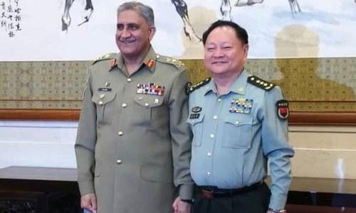 آرمی چیف جنرل قمر باجوہ کی چینی جنرل ژانگ ژویا سے ملاقات