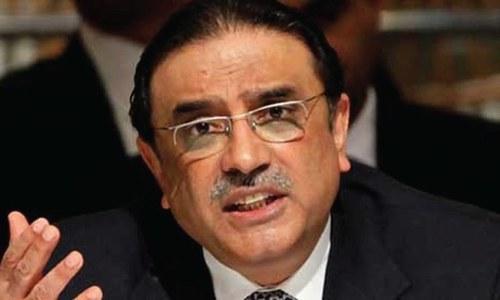 Seeking details of Benazir's assets disrespect to a martyr: Zardari