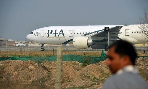 Flight attendant slipped away in Canada: PIA
