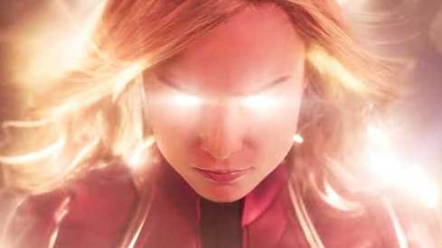 Captain Marvel's trailer hints at '90s nostalgia but that's it