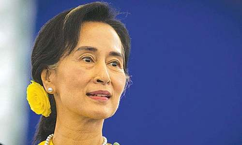 Former columnist jailed for 'abusive' posts about Aung San Suu Kyi
