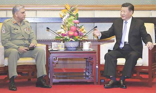 Bajwa, Xi discuss regional security environment
