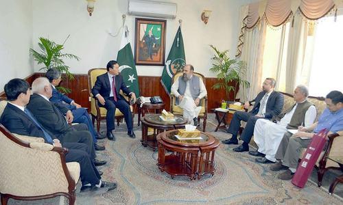 چینی کمپنی کی بلوچستان کے معدنی وسائل کو ترقی دینے کی پیشکش