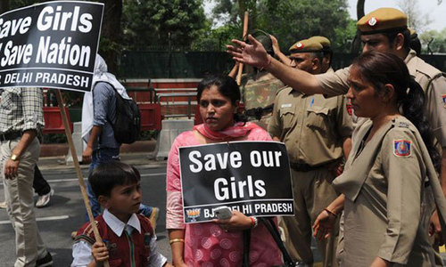 Indian police arrest man for allegedly raping his daughter