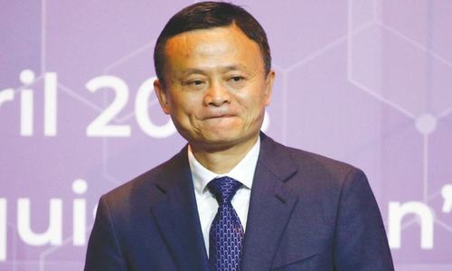 Alibaba's Ma says 1m US jobs pledge thwarted by trade row