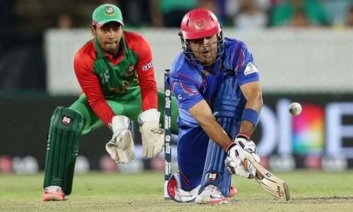 ایشیا کپ: افغانستان کی بنگلہ دیش کے خلاف بیٹنگ جاری
